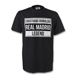 Cristiano Ronaldo Real Madrid Legend Tee (black)