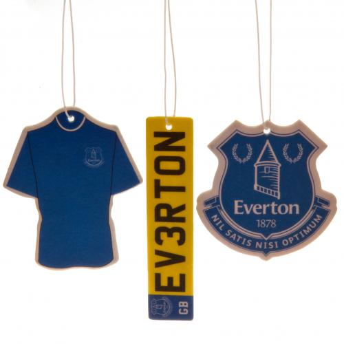 Everton F.C. 3pk Air Freshener