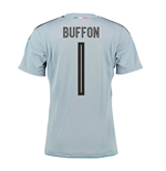 2016-2017 Italy Home Goalkeeper Shirt (Buffon 1)