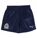 2017-2018 Newcastle Away Football Shorts (Kids)