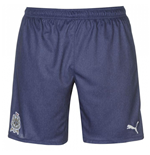 2017-2018 Newcastle Away Football Shorts (Denim)
