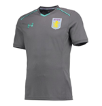 2017-2018 Aston Villa Training Shirt (Graphite) - Kids