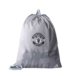 2017-2018 Man Utd Adidas Gym Bag (Light Grey)