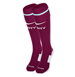2017-2018 Man City Nike Away Socks (True Berry)