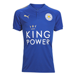 2017-2018 Leicester City Puma Home Football Shirt