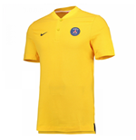 2017-2018 PSG Nike Authentic League Polo Shirt (Yellow)