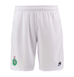 2017-2018 St Etienne Pro Home Shorts (White)