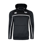 2017-2018 Ospreys Rugby Players Training Hooded Sweat (Black)