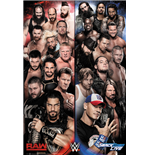 Wwe - Raw V Smackdown Poster