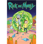 Rick and Morty Poster - Portal - 61X91,5 Cm