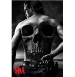 Sons of Anarchy Poster - Jax Back - 61X91,5 Cm