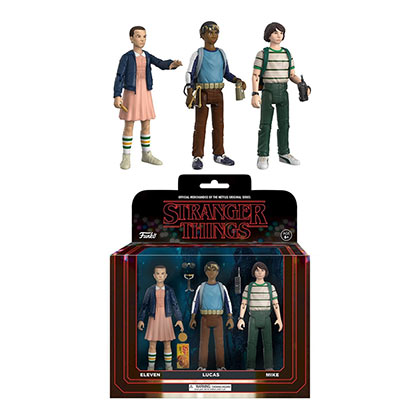 STRANGER THINGS Lucas Eleven Mike Action Figures