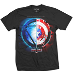 Marvel Comics Mens Tee: Captain America Civil War Whose Side?