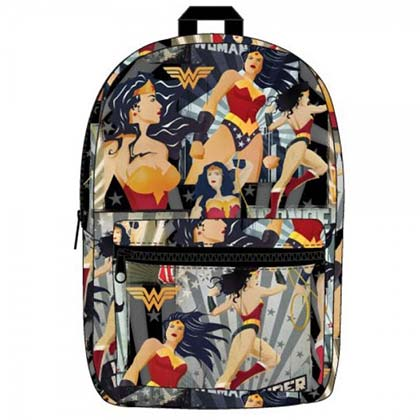 WONDER WOMAN All Over Print Backpack
