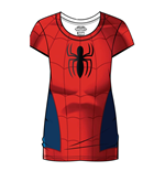 Marvel Comics Ladies Sublimation T-Shirt Spider-Man Costume