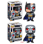 Batman The Animated Series POP! Heroes Vinyl Figures 9 cm Batman Robot Assortment (6)