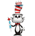 Dr. Seuss POP! Books Vinyl Figure Cat in the Hat with Cake & Umbrella 9 cm