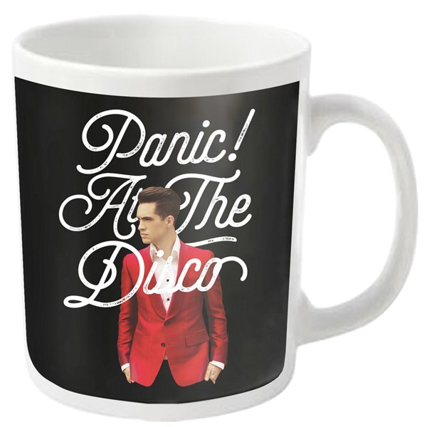PANIC! At The Disco Mug Brendon Script