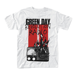 Green Day T-shirt Radio Combustion