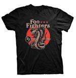 Foo Fighters T-shirt Snake