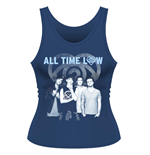 All Time Low Tank Top Colourless
