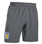 2017-2018 Aston Villa Training Shorts (Graphite)