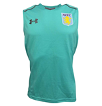 2017-2018 Aston Villa Sleeveless Training Tee (Mosiac)