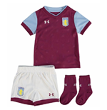 2017-2018 Aston Villa Home Baby Kit