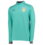 2017-2018 Aston Villa Half Zip Training Top (Mosiac)
