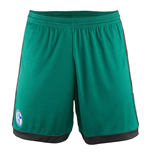 2017-2018 Schalke Adidas Third Shorts (Green)