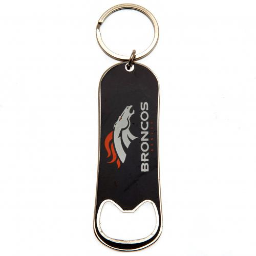 Denver Broncos Bottle Opener Keychain