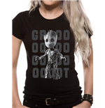 Guardians Of The Galaxy 2 - Groot Photo - Women Fitted T-shirt Black
