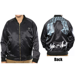 Biggie Smalls Bomber Jacket: Life After Death (Back Print)