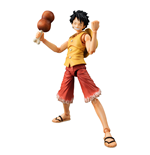 One Piece Variable Action Heroes Action Figure Monkey D Luffy Past Blue (Yellow Ver.) 17 cm