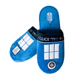 Doctor Who Slippers Tardis