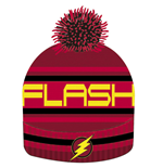 Justice League Beanie Knitted Flash Logo