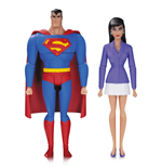 Superman The Animated Series Action Figure 2-Pack Superman & Lois Lane 15 cm