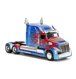 Transformers The Last Knight Diecast Model 1/32 Optimus Prime Western Star 5700 XE Phantom