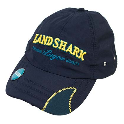 LANDSHARK Lager Navy Blue Bottle Opener Hat