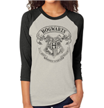 Harry Potter - Hogwarts - Unisex Baseball Shirt White