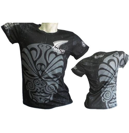 All Blacks T-shirt Maori FULL-PRINT 2017
