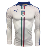 2015-2016 Italy Authentic ACTV Away Long Sleeve Puma Football Shirt