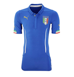 2015-2016 Italy Authentic ACTV Home Puma Football Shirt