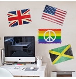Flags Wall Stickers 274640
