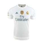 2015-2016 Real Madrid Adidas World Champions Home Football Shirt