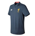 2017-2018 Liverpool Media Motion Polo Shirt (Thunder) - no sponsor