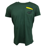 2017-2018 South Africa Springboks Casual Top (Bottle Green)