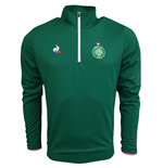 2017-2018 St Etienne Training Sweat (Green)