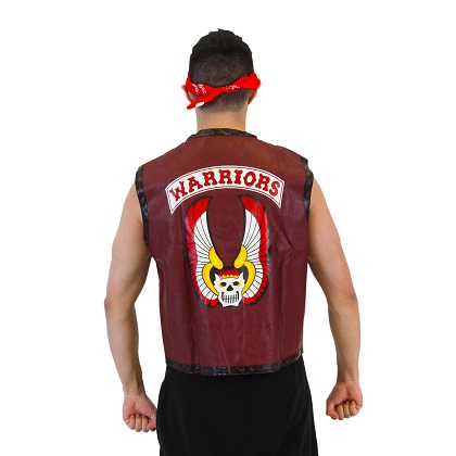 The WARRIORS Vest and Bandana Costume