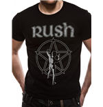Rush - One Colour Starman - Unisex T-shirt Black